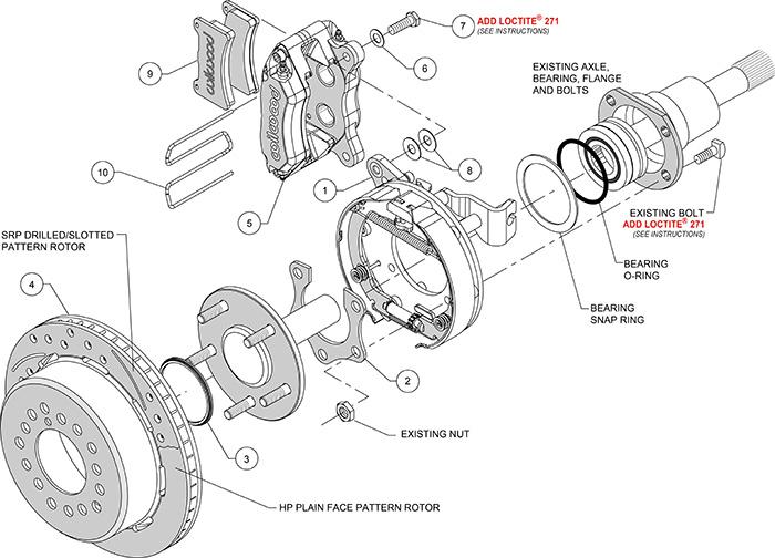 Wilwood Dynapro Low Profile Brake Kit for 65 69 Dodge 11