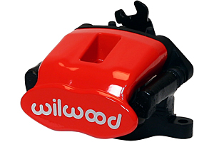 Combination Parking Brake Caliper - Red Powder Coat