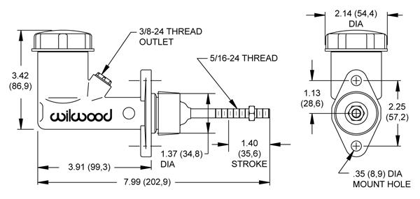 Westinghouse Desk Fan Wiring Diagram Wilwood Disc Brakes Mastercylinder No 260 2636