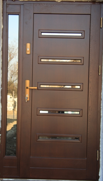 WIMA Stolarka drzwi podogi schody ogrody wyroby drewniane  Drzwi drewniane zewntrzne