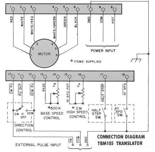 Slo Syn Stepper Motor Wiring Diagram