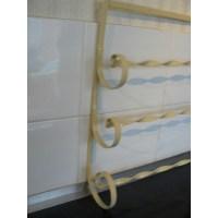 Towel rack wrought iron towel rail