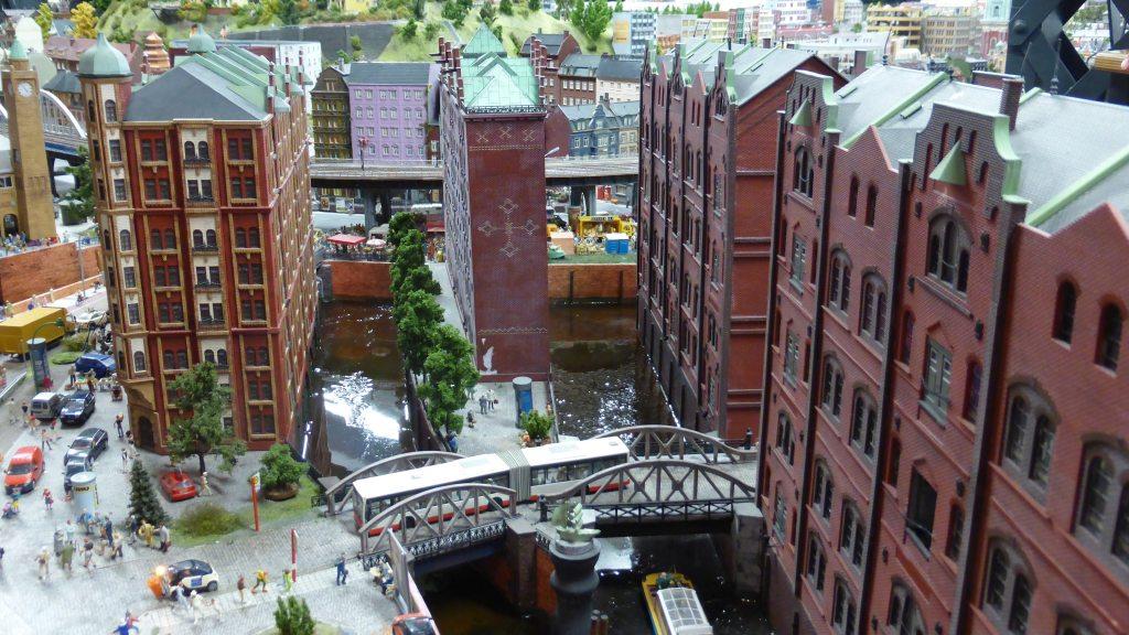 Speicherstadt Hamburg im Mini Wunderland