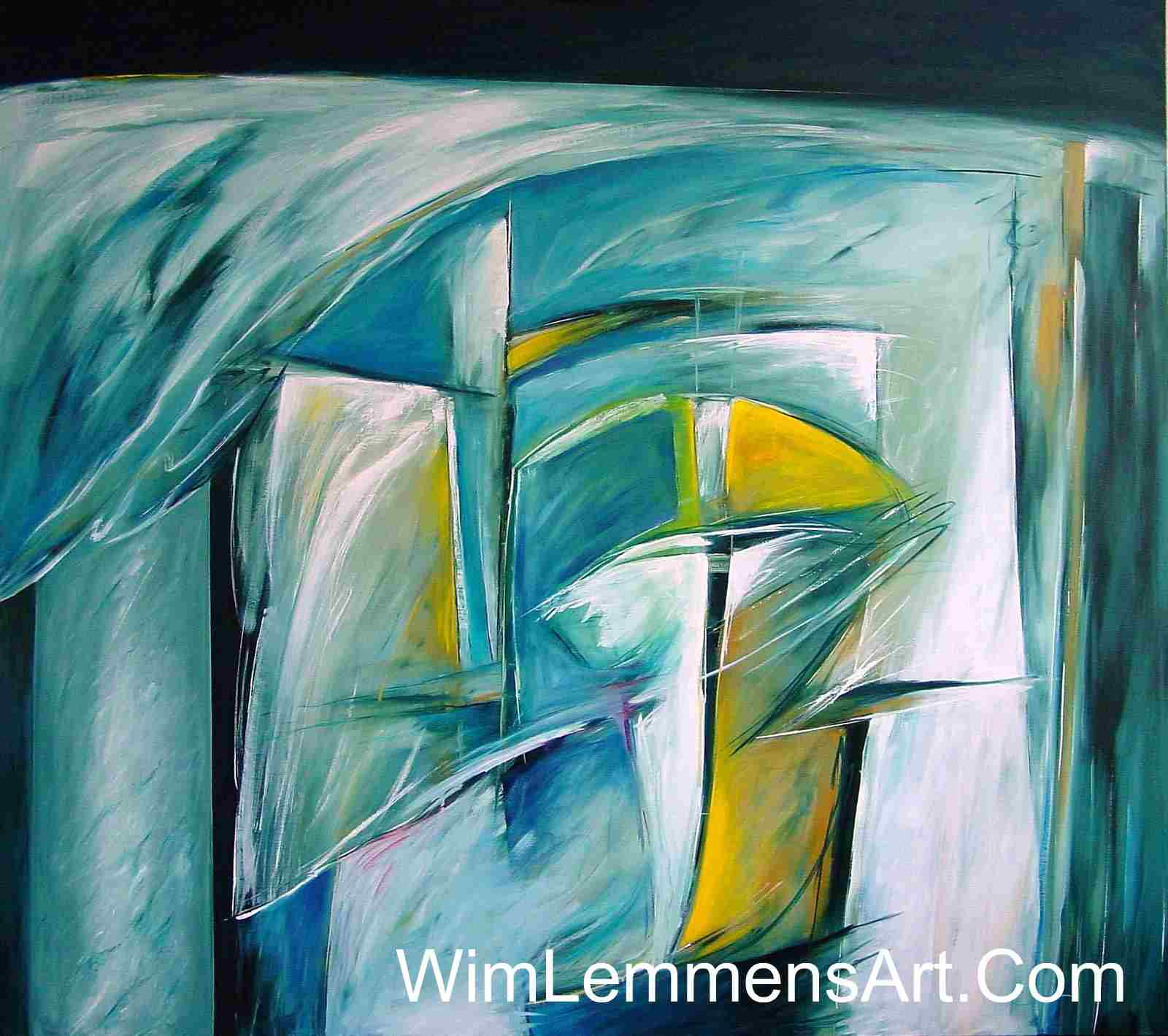 abstract art painting of