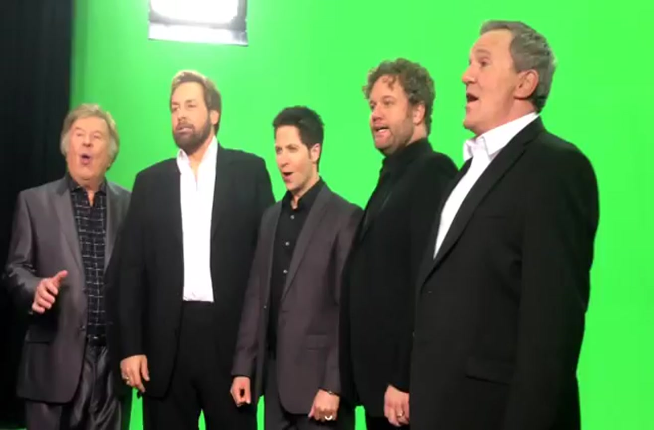 Vocal Band Sings A Moving Rendition Of The Star Spangled