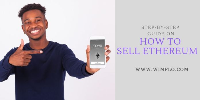 Step-by-step guide on how to sell Ethereum