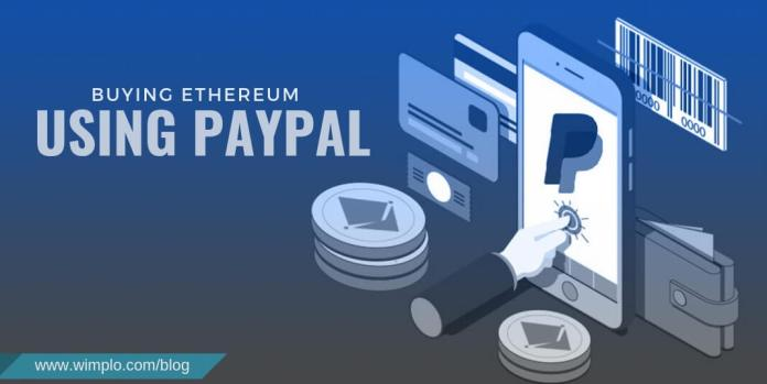 Buying Ethereum using PayPal