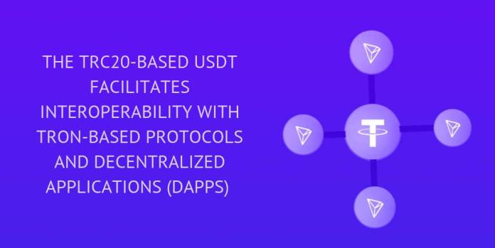 THE TRC20-BASED USDT FACILITATES INTEROPERABILITY WITH TRON-BASED PROTOCOLS AND DECENTRALIZED APPLICATIONS (dApps)