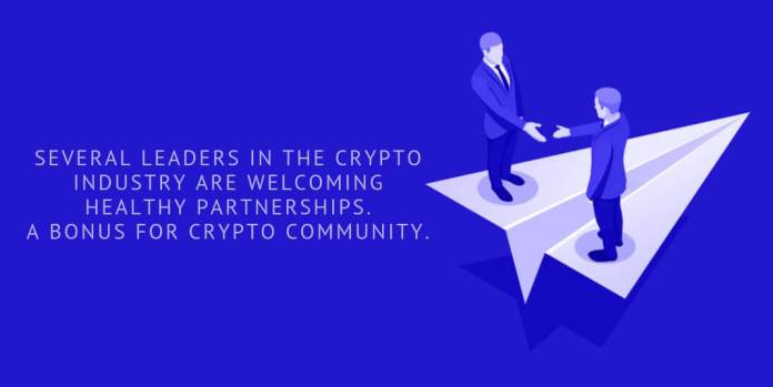 Leaders in the crypto community welcome healthy partnerships