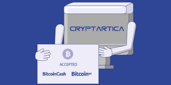 Cryptartica starts accepting newer digital coin