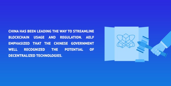 China has been leading the way to streamline blockchain usage and regulation. Aelf emphasized that the Chinese government well recognized the potential of decentralized technologies.