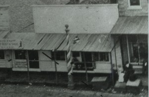 Ball's Barber Shop, 19-23 East Side Square, Macomb, Illinois