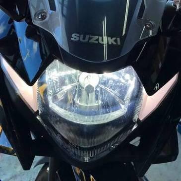 GSX250R LEDヘッドライト取り付け