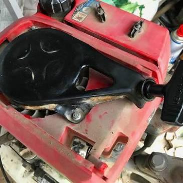 ホンダ 耕運機の修理
