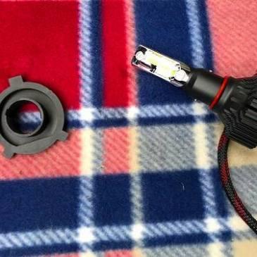 H4 LEDヘッドライト取り付け