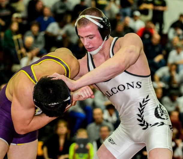 Among Bo Jordan's 49 victories in an unbeaten senior season this past winter as a second straight Ironman championship against California's Isaiah Martinez in December. Jordan went on to win four Ohio state championships and two OW honors in his career at St. Paris Graham High School.