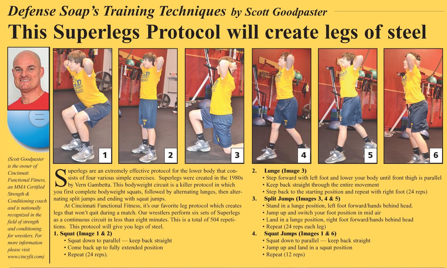 Scott Goodpaster's Unique Training Exercises - WIN Magazine