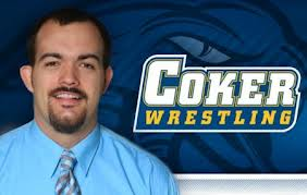 Coker wrestling coach Cy Wainwright