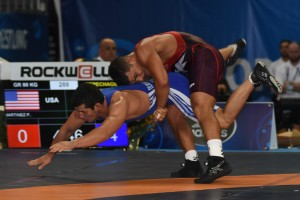 Patrick Martinez (right) went 1-2 in his first Worlds. (Ginger Robinson photo)