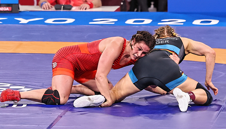 Gray holds onto Olympic silver medal and her legacy