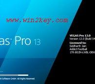 Sony Vegas Pro 13 Crack Only [Patch + Keygen] Download