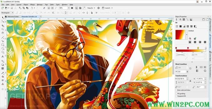 CorelDraw Graphics Suite 2017 Crack-pic-Win2Pc