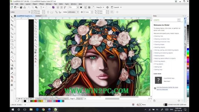 CorelDraw Graphics Suite 2017 Crack-main-Win2Pc