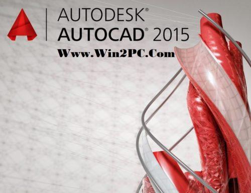AutoCAD 2015 Crack-Cover-Win2PC