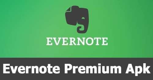 EverNote Premium Apk-Cover-Win2Pc
