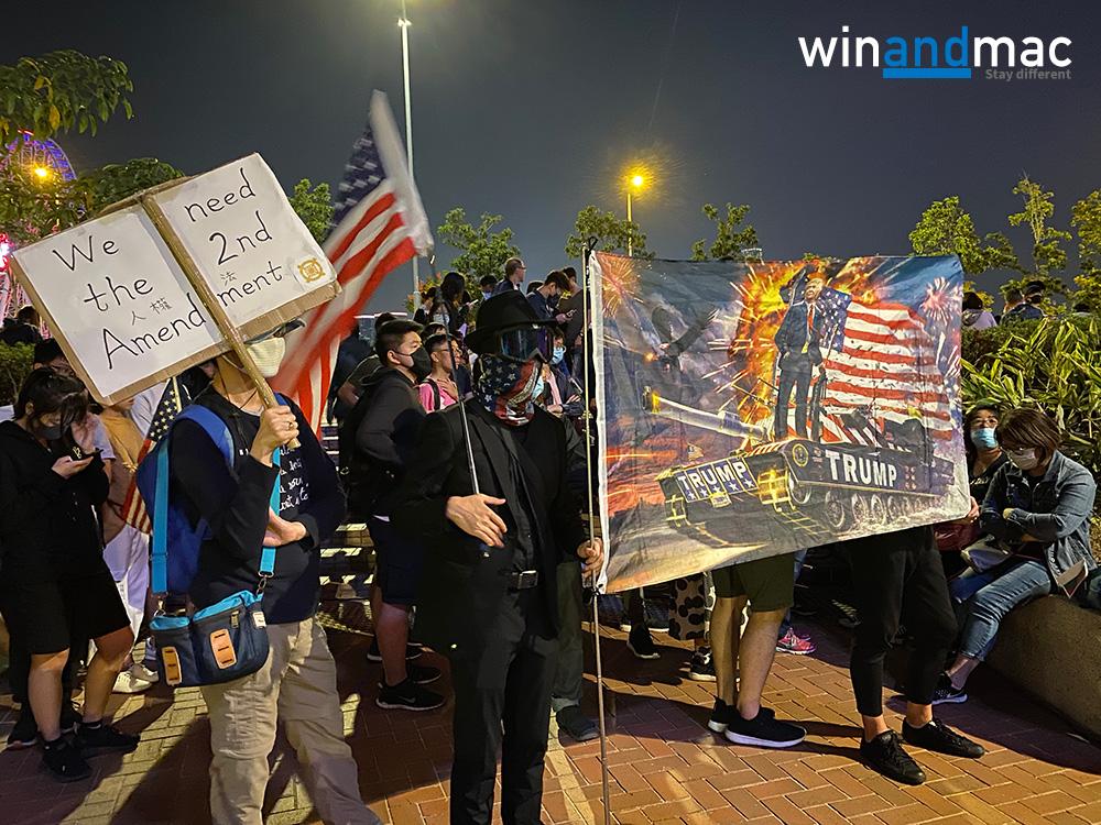 美國眾議院通過參議院版本 《香港人權與民主法案》待總統簽署即可 - winandmac.com