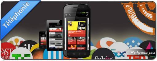 Agregateurs de flux RSS pour mobile