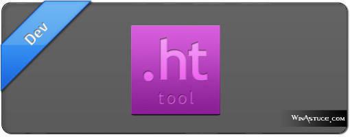 htTool - générateur de fichier htaccess