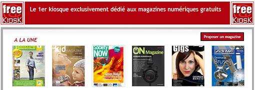 FreeKiosk - Trouver des magazines gratuit à lire n'est plus un problème