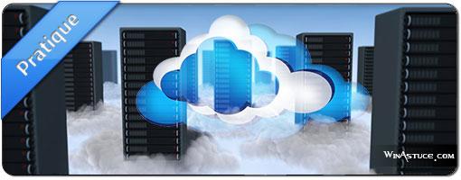 Conserver ses données dans le Cloud