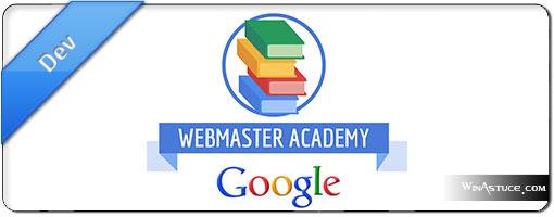 Google Webmaster Academy désormais en français