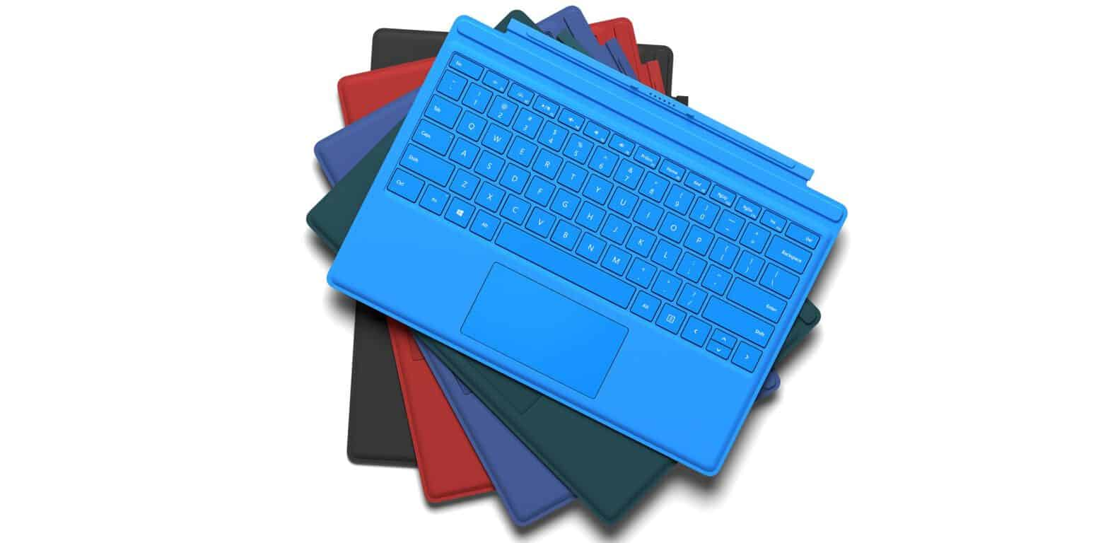 Surface-Pro-4-Type-Cover_group Microsoft's backward-compatible Surface accessories are giving the Surface Pro 3 new life