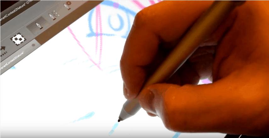 Surface 4 Pro pen