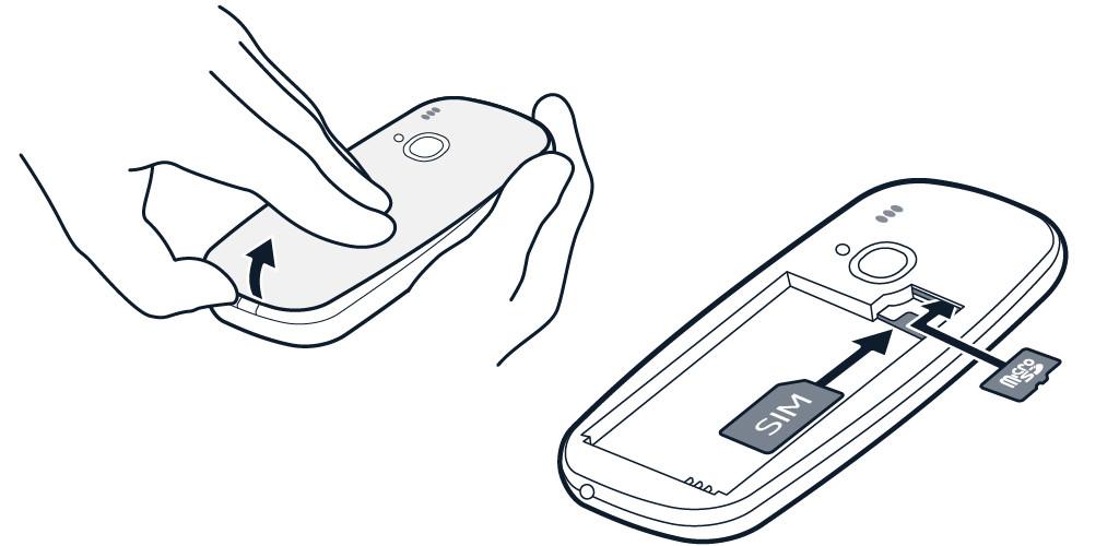 Nokia 3310 und 3310 Dual SIM: Mobilfunk-Karte einlegen
