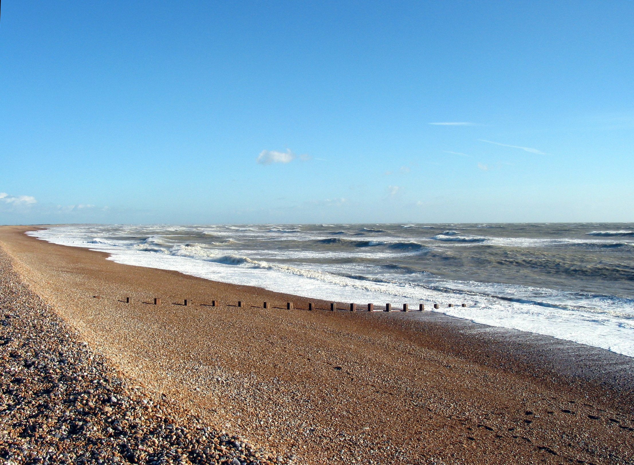 View of Winchelsea Beach 1545