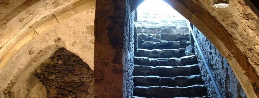 Rookery Cottage Cellar Entrance