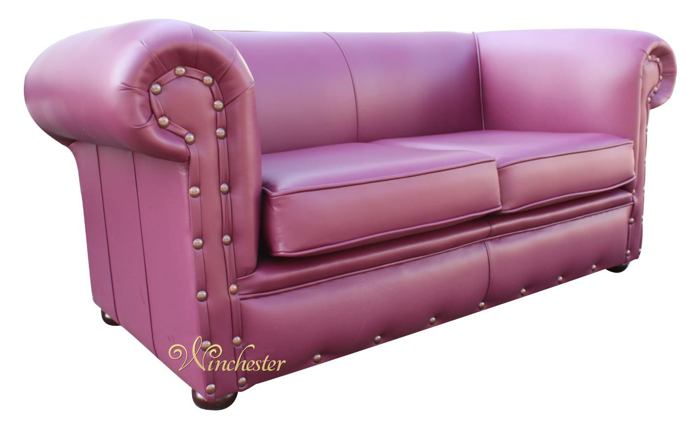aubergine leather sofa best modern sectional chesterfield decor 2 seater settee vele