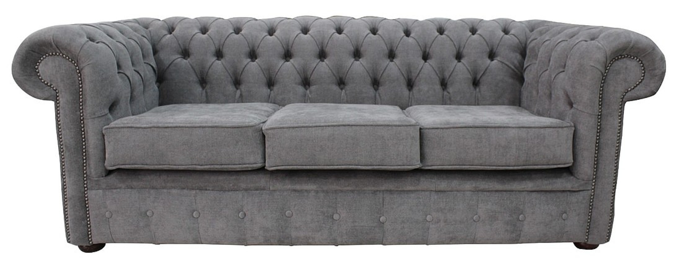 fabric sofas uk cheap the cloud sofa reviews designersofas4u buy pewter chesterfield 3 seater settee marinello offer