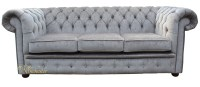 Chesterfield Grey Sofa Grey Leather Chesterfield Sofas ...