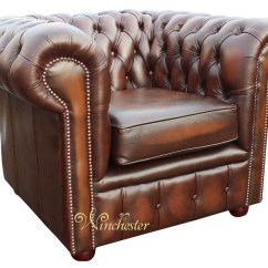 Queen Anne Wingback Chair Leather S4optik And Stand Chesterfield London Low Back Club Armchair Antique Brown