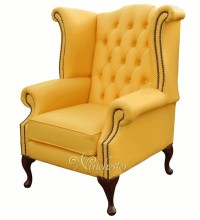 Chesterfield Queen Anne High Back Wing Chair UK ...