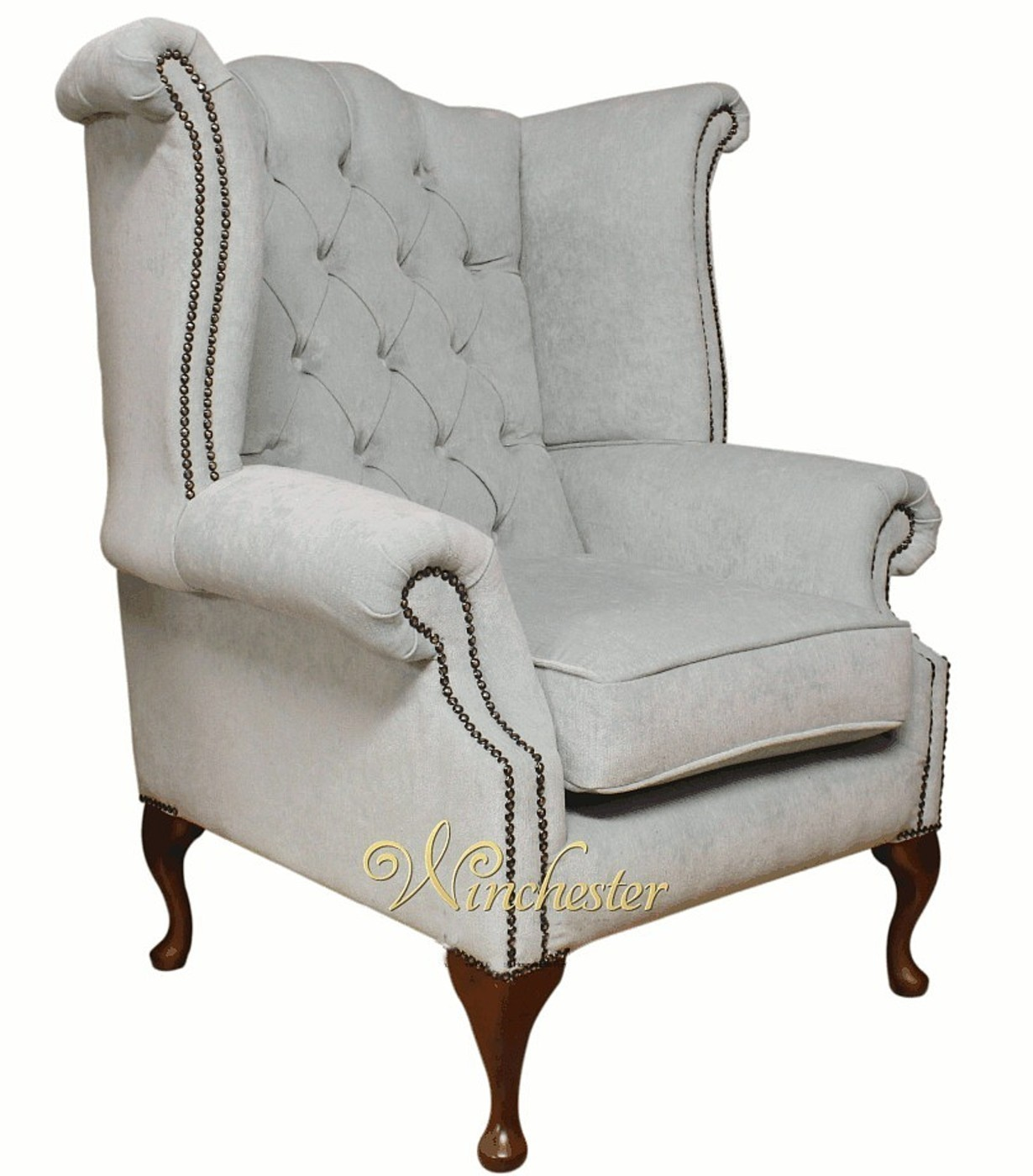 2 seater chesterfield sofa dimensions clubber fabric queen anne high back wing chair duck ...