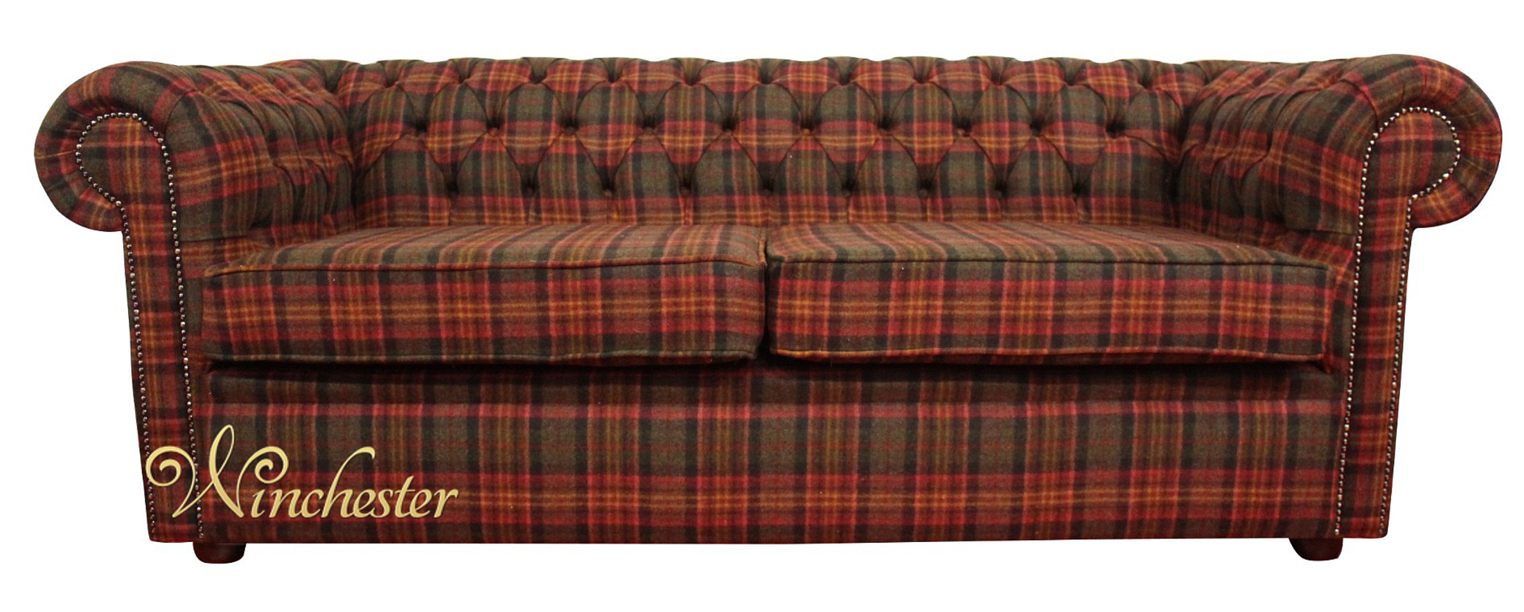 harris tweed bowmore midi sofa hay bed fabric easylovely about ...
