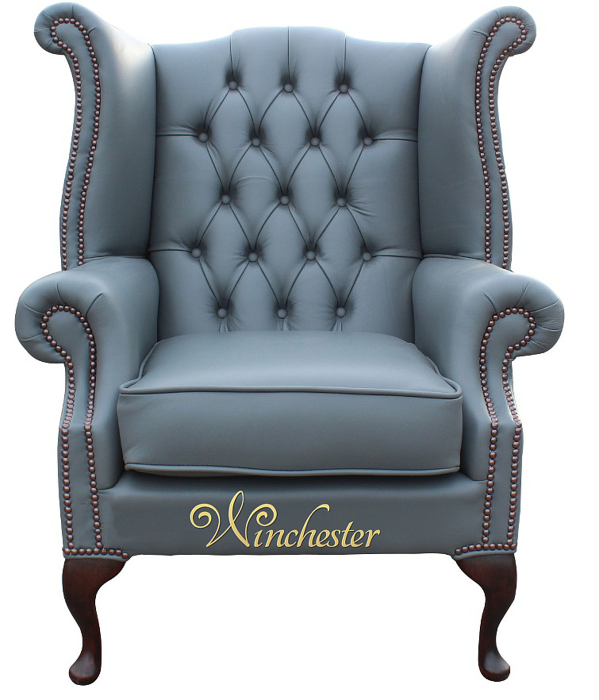 clean leather chair smell party tables and chairs chesterfield queen anne high back wing soft vele iron grey leather, sofas ...