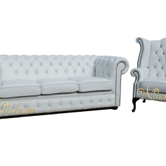 White Leather Chesterfield Sofa With Crystals Chaise Sofas Perth Warehouse Swarovski Crystal 3 Seater Wing Chair