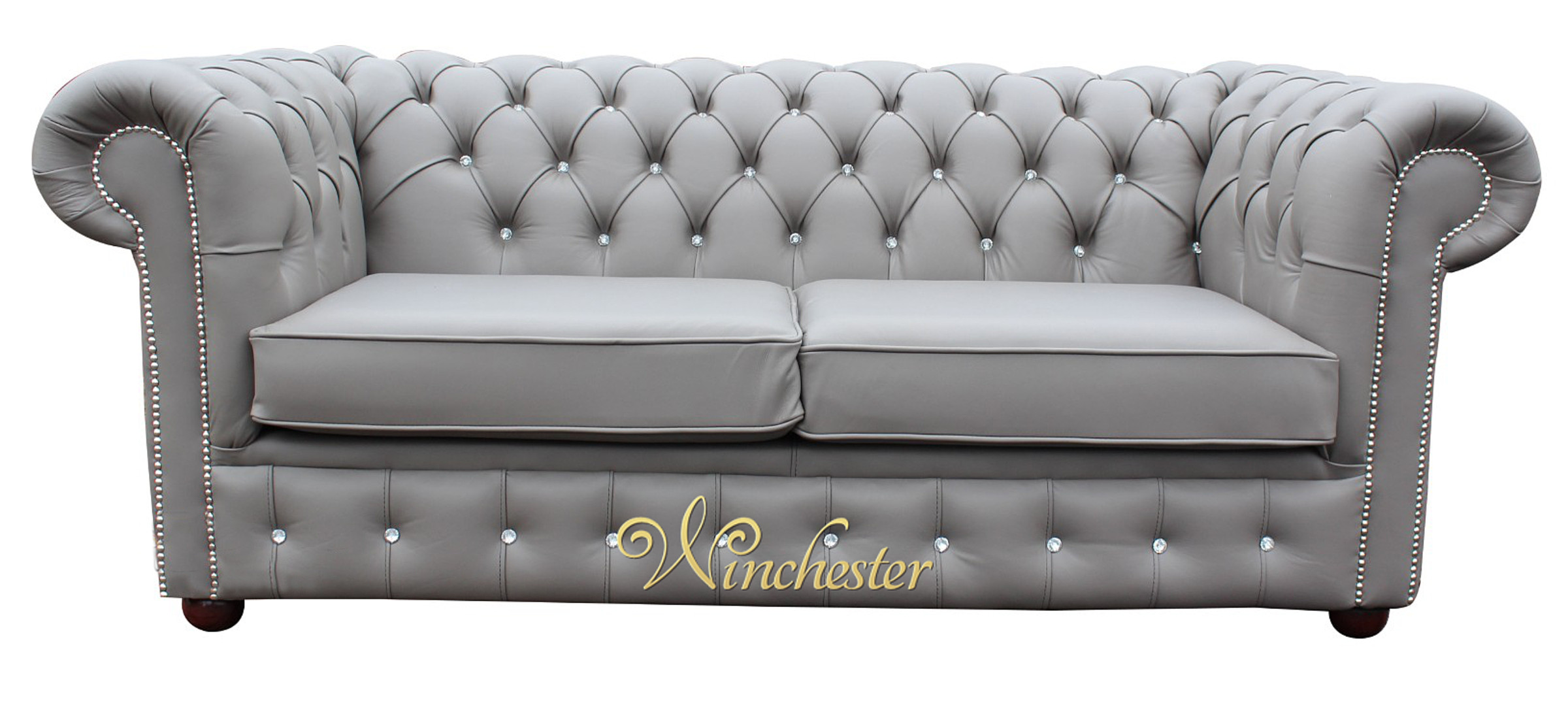 Chesterfield 2 Seater Swarovski CRYSTALLIZED Diamond Moon